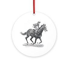 Shergar Ornament (Round)