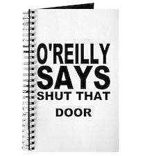 SHUT THAT DOOR Journal