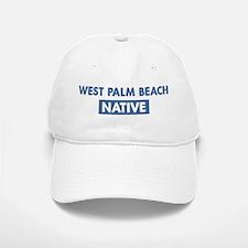 WEST PALM BEACH native Baseball Baseball Cap