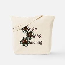 Baga Beag Gaidhlig Square Tote Bag