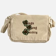 Baga Beag Gaidhlig Square Messenger Bag
