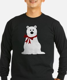 Cute Polar Bear with Red T