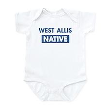 WEST ALLIS native Infant Bodysuit