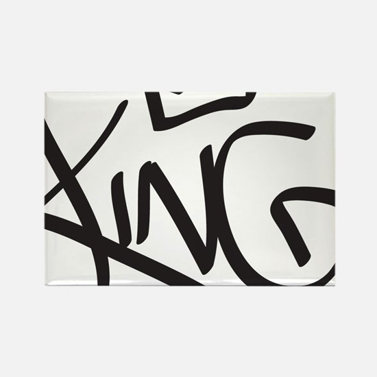 Cute King Rectangle Magnet