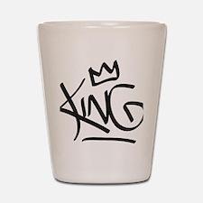 Funny King Shot Glass