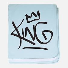 King Tag baby blanket