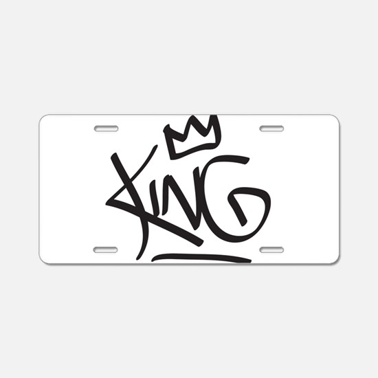 King Tag Aluminum License Plate