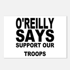 SUPPORT OUR TROOPS Postcards (Package of 8)