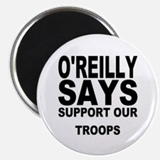 """SUPPORT OUR TROOPS 2.25"""" Magnet (100 pack)"""