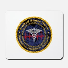 Navy Biomedical Equipment Technician Mousepad