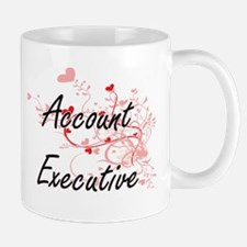 Account Executive Artistic Job Design with He Mugs
