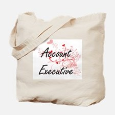 Account Executive Artistic Job Design wit Tote Bag