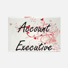 Account Executive Artistic Job Design with Magnets