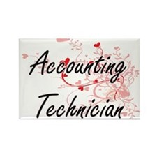 Accounting Technician Artistic Job Design Magnets