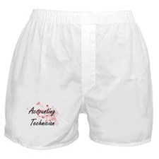 Accounting Technician Artistic Job De Boxer Shorts