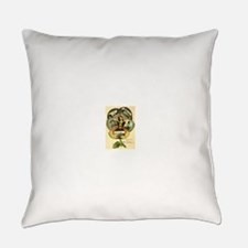1909 Card Everyday Pillow