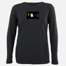 Desire Card Plus Size Long Sleeve Tee