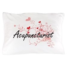 Acupuncturist Artistic Job Design with Pillow Case