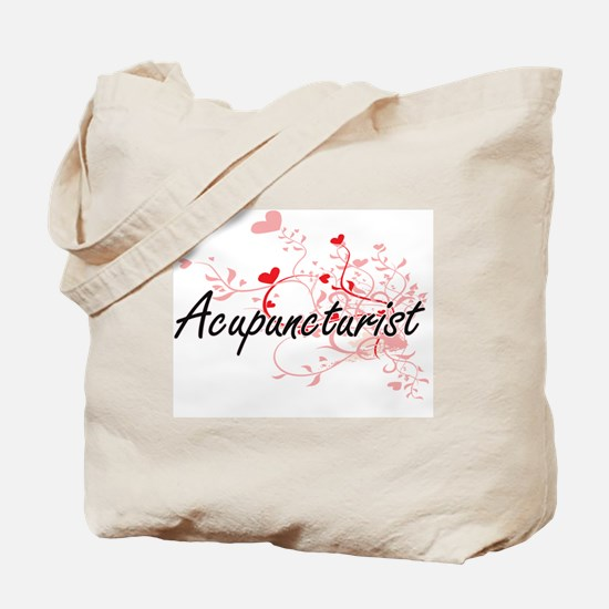 Acupuncturist Artistic Job Design with He Tote Bag