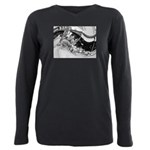 French Market, 1900 Plus Size Long Sleeve Tee