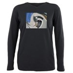 ArrowBarberShop Plus Size Long Sleeve Tee