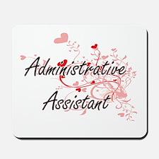 Administrative Assistant Artistic Job De Mousepad