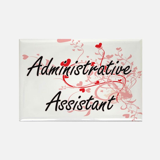 Administrative Assistant Artistic Job Desi Magnets
