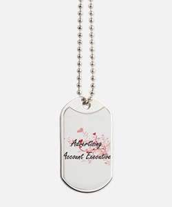 Advertising Account Executive Artistic Jo Dog Tags