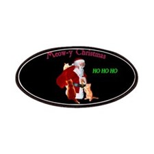 Santa And Cats Patch