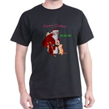Santa And Cats T-Shirt