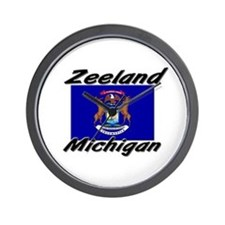Zeeland Michigan Wall Clock