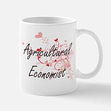 Agricultural Economist Artistic Job Design wi Mugs