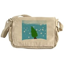Winter Scene Messenger Bag