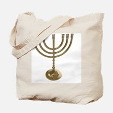 Cute Menorah Tote Bag