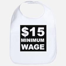 15 Minimum Wage Bib