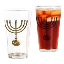 Cute Chanukah chanukkah Drinking Glass