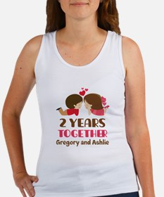 2nd Anniversary personalized Tank Top