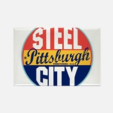 Cool Pittsburgh Rectangle Magnet