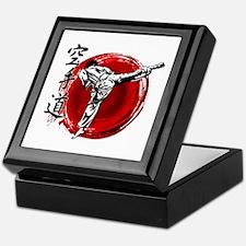 Cute Shotokan karate Keepsake Box