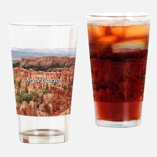 Bryce Canyon, Utah 20 (caption) Drinking Glass