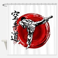 Karate Shower Curtain