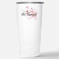 Art Therapist Artistic Travel Mug