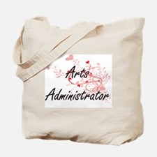 Arts Administrator Artistic Job Design wi Tote Bag