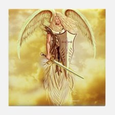 angel michael Tile Coaster