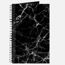 Black marble stone gray accents Journal