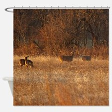 Bucks and Does Shower Curtain