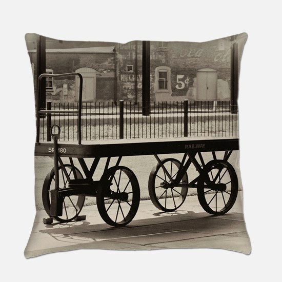 Luggage Truck Everyday Pillow