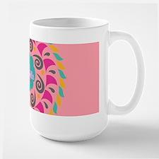 Pink Personalized Monogram Mugs