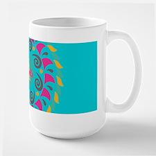 Turquoise Personalized Monogram Mugs
