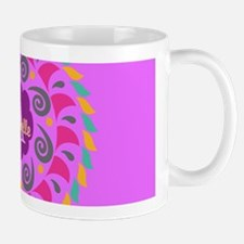 Purple Personalized Monogram Mugs